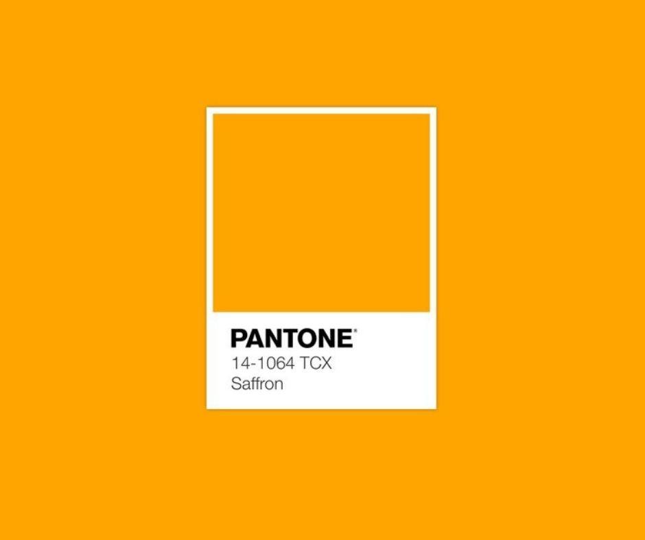 Saffron Pantone