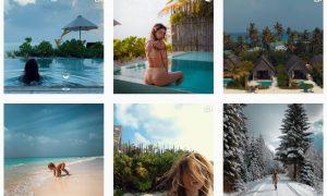 instagram sanziana negru influencerita vloggerita